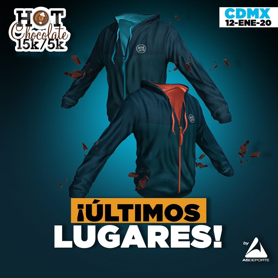 Carrera Hot Chocolate 2020 CDMX 15K 5K
